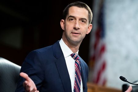 Exclusive: Senator Cotton delays vote on Biden's pick for powerful China job at Commerce