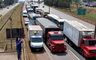 Truckers in Brazil disband blockade after provoking fuel shortages